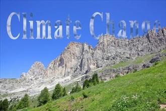Symbolic image climate change