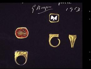 Braque, Projet de bagues