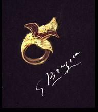 Braque, Projet de bague