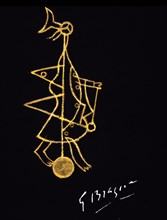 Braque, Projet de bijou et de sculpture