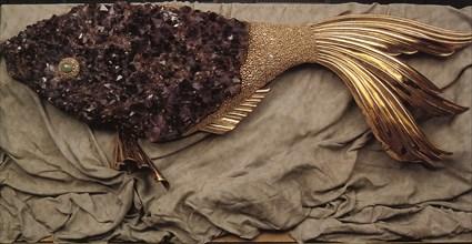 Bijou présenté au musée des bijoux de Braque, à Saint-Dié des Vosges