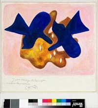 Braque, Les Oiseaux bleus