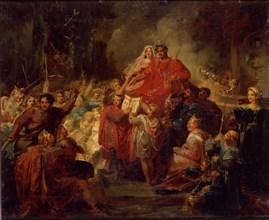 Auvray, L'Avènement de Pépin le Bref sur le trône de France