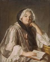 La Tour, Portrait de Marie Leczinska