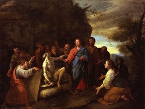 Di Leone, La Résurrection de Lazare