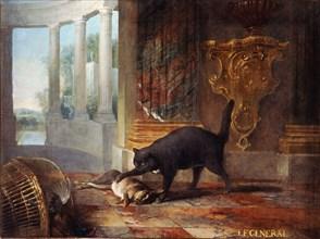 Oudry, Le chat Le Général