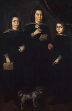 Del Maso, Portrait des trois fils de Velasquez