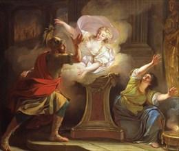 Laceur, Enée poursuit Hélène dans le temple de Vesta