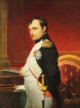 Delaroche, Portrait de l'empereur Napoléon 1er dans son cabinet de travail