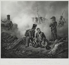 """""""Le chien du Régiment"""", d'après Horace Vernet"""