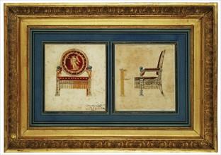 David, Projet pour le trône de Napoléon 1er
