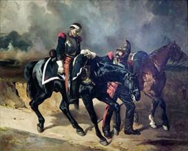 De Dreux, Le Cuirassier blessé après la bataille de Waterloo