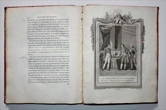 Le ministre de l'Intérieur présente du sucre de betterave à Napoléon