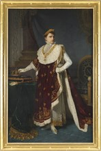 Drolling, Napoléon en costume du sacre
