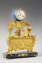 Pendule commémorant la naissance du Roi de Rome