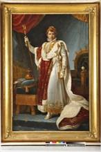 Baron Gérard, Portrait de l'empereur Napoléon 1er en costume de sacre