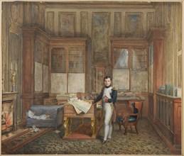 Isabey, Napoléon Bonaparte dans son cabinet de travail aux Tuileries