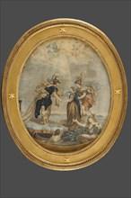 Marie-Louise, archiduchesse d'Autriche, épouse de Napoléon 1er, présentée par l'Autriche et accueillie par la France