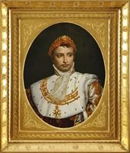 David, Portrait de Napoléon en costume de Sacre