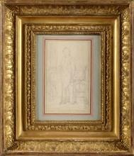 David, L'Empereur Napoléon dans son cabinet de travail aux Tuileries