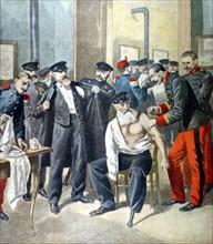 Les invalides de guerre vaccinés contre la variole, du 30 décembre 1900