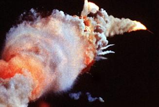 Catastrophe de la navette spatiale Challenger, le 28 janvier 1986