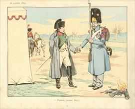 Livre pour enfant : la bataille de Leipzig