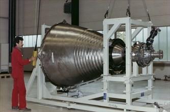 Le moteur de fusée Vulcain, 1989