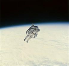 Sortie extravéhiculaire de Bruce McCandless II, 1984