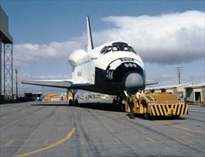La navette spatiale Endeavour, 1991