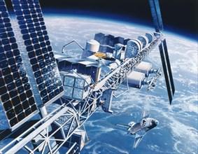 Projet de la station spatiale Freedom, 1988