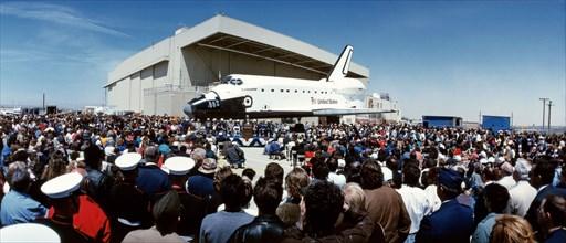 Sortie de la navette spatiale Endeavour, 1991