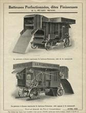 Batteuses Pécard Frères, 1926