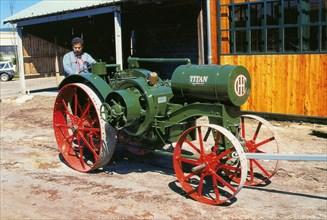 Tracteur américain Titan, 1919