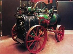 Locomobile à vapeur, 1921