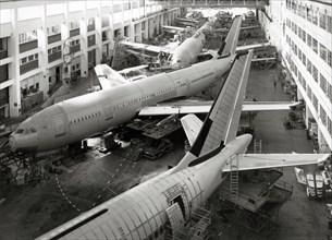 Ateliers de Toulouse-Blagnac en 1981