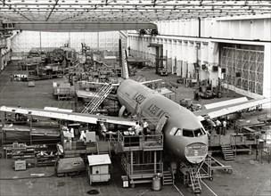 Prototype de l'Airbus A320, 1986