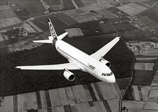 Airbus A320 en vol, 1987