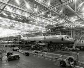 Ateliers de la McDonnell Douglas en 1979