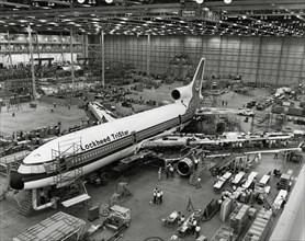 Assemblage de Lockheed L-1011 TriStar, 1971