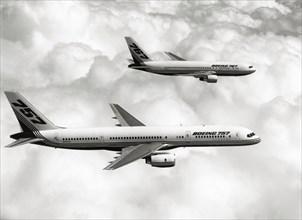 Boeing 757 et 767 en vol d'essai, 1987