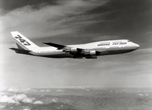 Boeing 747-300 en vol, 1980