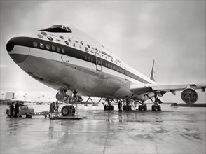 Boeing 747 au sol, 1969