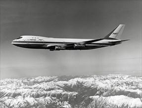Boeing 747 en vol, 1969