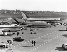 Plusieurs appareils du constructeur américain Boeing, en 1969