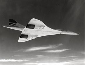 Le Concorde en vol en 1981