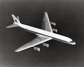 Delta DC-8 en vol, 1983