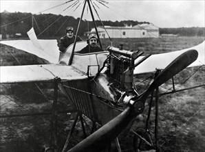 """L'avion monoplan """"Rumpler-Eindecker"""", 1912"""