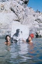 Salvador Dali et Gala au Cap de Creus