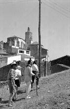 Marcel Duchamp, Salvador Dali et Gala à Cadaqués, 1958